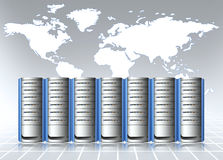 Data center. Server room infrastructure Royalty Free Stock Photography