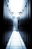 Data center. An interior shot of a technology data center stock images