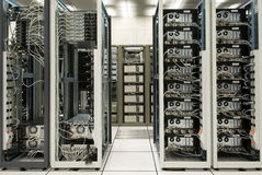 Data center. And Internet exchange