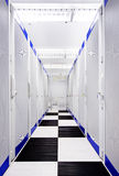 Data Center Aisle Stock Photos