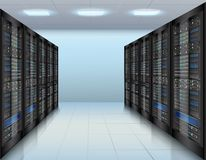 Data center background Royalty Free Stock Photo