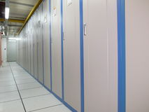 Data Center cabinets Royalty Free Stock Image