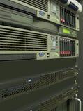 Data center computer servers rack royalty free stock photo