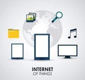 Data center design Royalty Free Stock Image