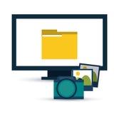 Data center design Royalty Free Stock Photography