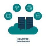 Data center design Stock Photo