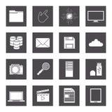 Data center design Stock Image