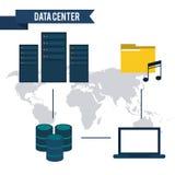 Data center design Stock Photos