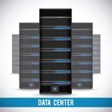 Data center design Royalty Free Stock Photo