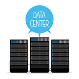 Data center design Stock Photo