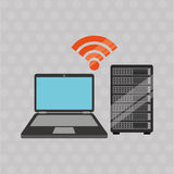 Data center design Stock Images