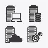 Data center. Design, vector illustration eps10 graphic Royalty Free Stock Photography