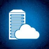 Data center. Design, vector illustration eps10 graphic Royalty Free Stock Photos