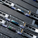 Data center detail Royalty Free Stock Image