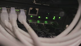 Data center equipment stock video