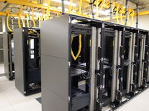Data Center rack and stacks Royalty Free Stock Photos