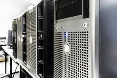 Data center room Royalty Free Stock Photography