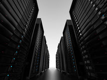 Data center server clusters Royalty Free Stock Photography