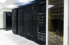 Data Center, Server room Royalty Free Stock Image