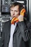 Data-center support specialist Stock Photography