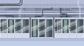 Data Center Technical Room Hosting Server Database Royalty Free Stock Image