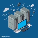 Data center vector illustration Stock Photography