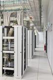 Data Centre Half walkway Stock Photo