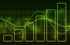Data Charts Royalty Free Stock Photo