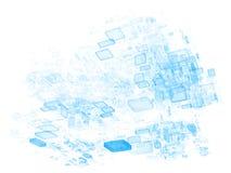 Data Cloud royalty free illustration