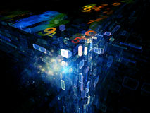 Data Cloud Royalty Free Stock Image