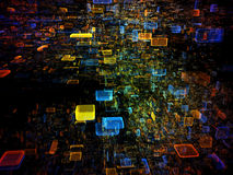 Data Cloud Stock Photography
