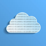 Data cloud Stock Image