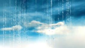 Data Cloud Server IT Technology stock video footage
