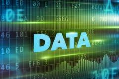 Data concept background Stock Photos