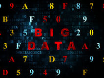 Data concept: Big Data on Digital background Royalty Free Stock Image