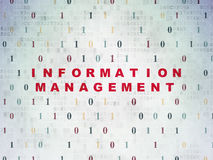 Data concept: Information Management on Digital Stock Photography