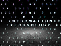 Data concept: Information Technology in grunge Stock Images