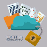 Data design. Royalty Free Stock Images