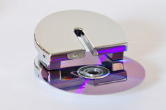 Data destruction Royalty Free Stock Photo