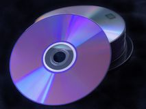 Data discs stock images