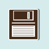 data disk design Royalty Free Stock Photography
