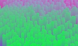 Vector abstract neon glitch effect. Data distortion background. Vector abstract neon glitch effect. Modern and trendy generative illustration. Broken data royalty free illustration