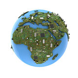 Data Earth Stock Photo