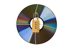 Data encryption Stock Photography