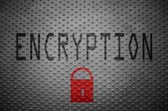 Data encryption lock Royalty Free Stock Photo