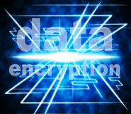 Data Encryption Means Information Privacy And Private Stock Images