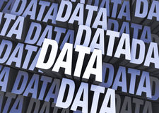 Data Everywhere Stock Image
