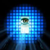 Data eye interface Stock Photos
