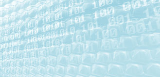 Data Screen Stock Image
