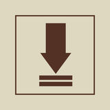 Data file design. Illustration eps10 graphic Royalty Free Stock Image